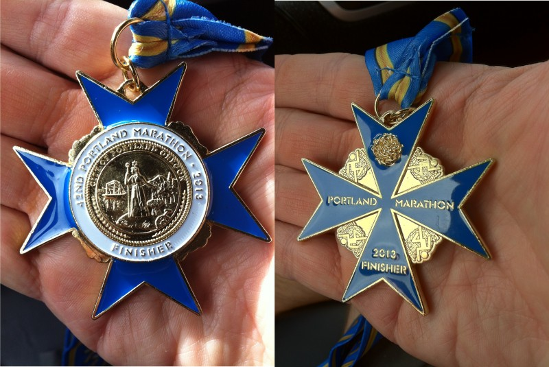 Finishers' Medal this year was pretty cool